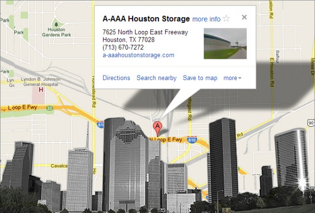 Convenient Houston Self Storage Location