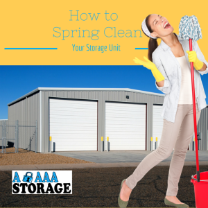 Storage Unit Spring Cleaning