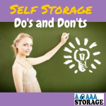 storage dos and don'ts