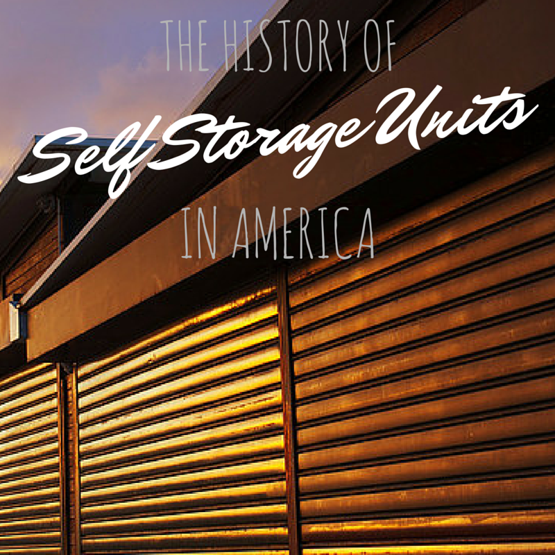 self storage units & The History of Self Storage Units in America | A-AAA Storage
