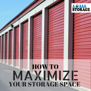 how to maximize storage space in a small bedroom how to maximize your storage unit space a aaa storage 21334